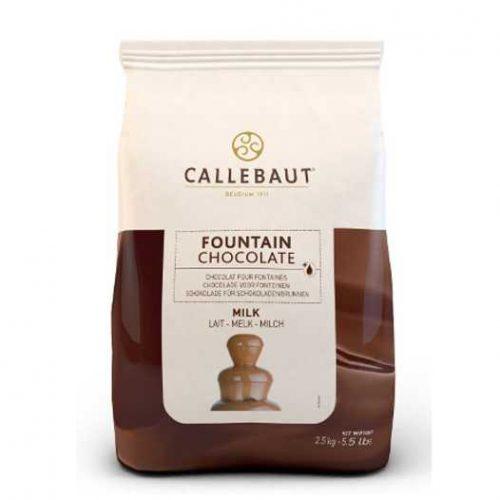 Čokoláda do fontány