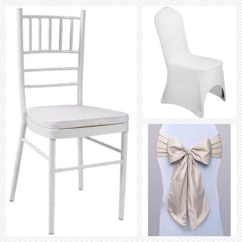 Stoličky / Návleky / Mašle