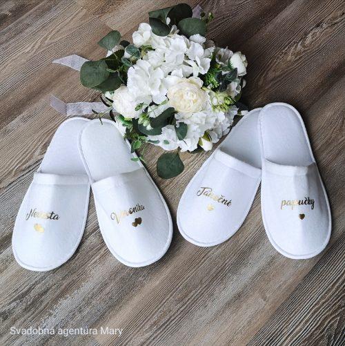 Svadobné papučky